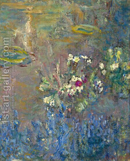 Water Lilies 57 by Claude Oscar Monet - Reproduction Oil Painting