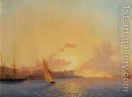 Sevastopol by Ivan Konstantinovich Aivazovsky - Reproduction Oil Painting