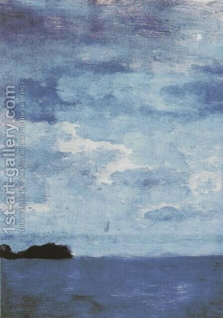 Sea. Finland. by Isaak Ilyich Levitan - Reproduction Oil Painting