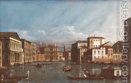 Venice Veduta 2 by Bernardo Bellotto (Canaletto) - Reproduction Oil Painting