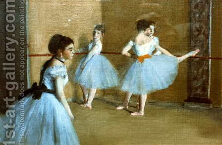 Dance Opera by Edgar Degas - Reproduction Oil Painting