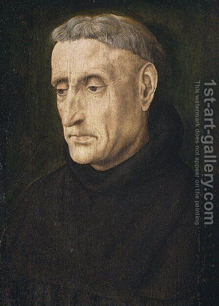 Benedictine Monk by Hugo Van Der Goes - Reproduction Oil Painting