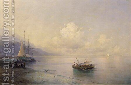 Seascape 11 by Ivan Konstantinovich Aivazovsky - Reproduction Oil Painting