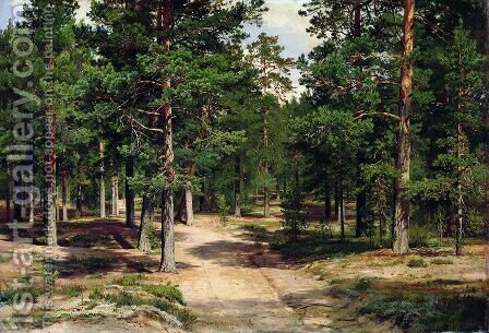 The Sestroretsk Bor by Ivan Shishkin - Reproduction Oil Painting