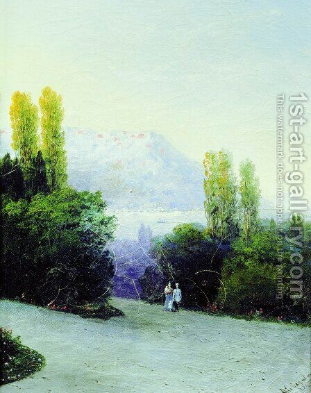 Livadia by Ivan Konstantinovich Aivazovsky - Reproduction Oil Painting