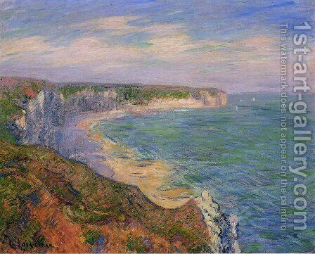 Cliffs at Fecamp in Normandy by Gustave Loiseau - Reproduction Oil Painting