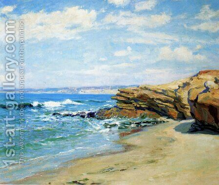 La Jolla Beach by Guy Rose - Reproduction Oil Painting