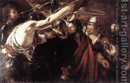 Parting of Sts Peter and Paul Led to Martyrdom 1625-26 by Giovanni Serodine - Reproduction Oil Painting