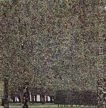 The Park by Gustav Klimt - Reproduction Oil Painting