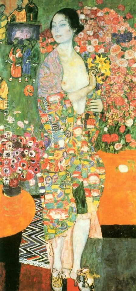 The Dancer by Gustav Klimt - Reproduction Oil Painting