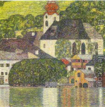 Church In Unterach On The Attersee by Gustav Klimt - Reproduction Oil Painting