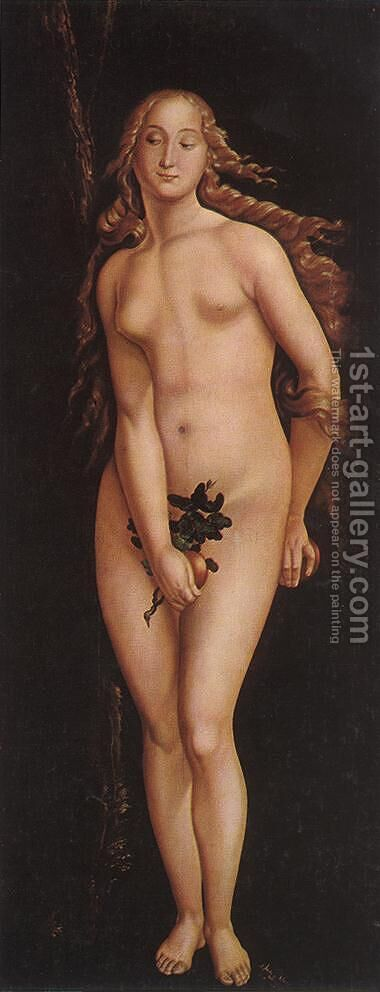 Eve by Hans Baldung  Grien - Reproduction Oil Painting