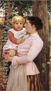 James  Mother And Child by Beckwith Carroll - Reproduction Oil Painting