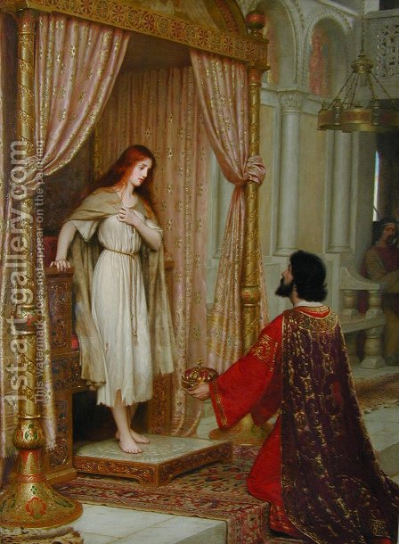 Blair Leighton King Copetua And The Beggar Maid by Blair-leighton Edmund - Reproduction Oil Painting