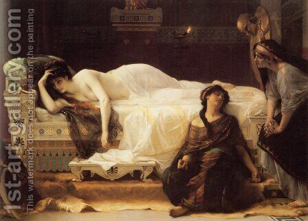Phedre by Alexandre Cabanel - Reproduction Oil Painting