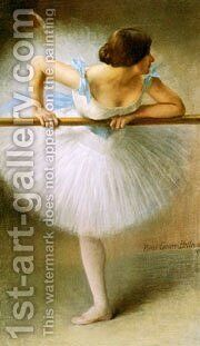 Carrier Belleuse  La Danseuse by Carrier-belleuse Pierre - Reproduction Oil Painting