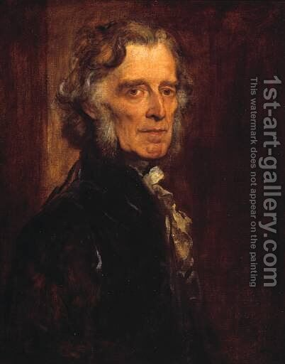 Russell Gurney by George Frederick Watts - Reproduction Oil Painting
