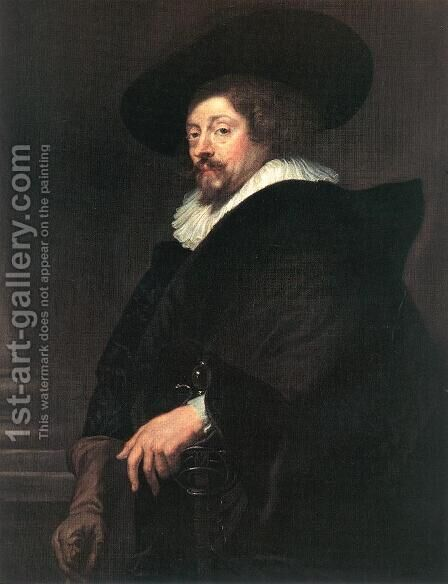 Self Portrait by Rubens - Reproduction Oil Painting