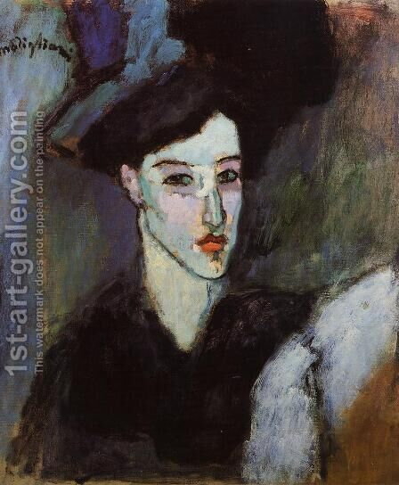 The Jewess by Amedeo Modigliani - Reproduction Oil Painting