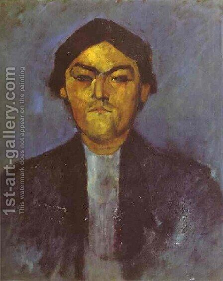 Portrait Of Pedro by Amedeo Modigliani - Reproduction Oil Painting