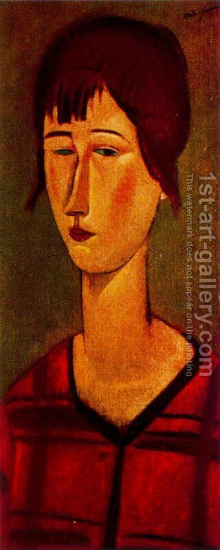 Marcelle by Amedeo Modigliani - Reproduction Oil Painting