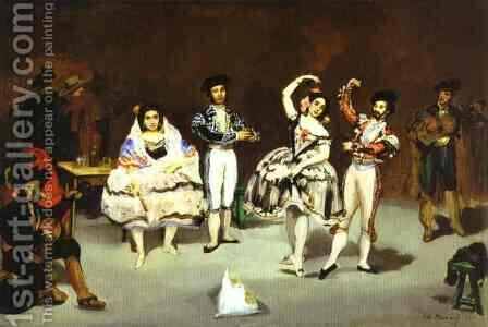 The Spanish Ballet by Edouard Manet - Reproduction Oil Painting