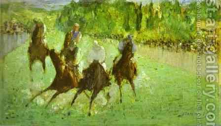 At The Races by Edouard Manet - Reproduction Oil Painting