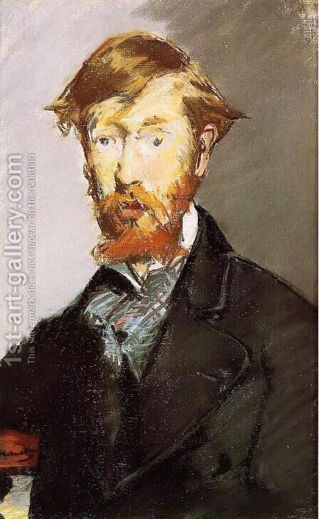 Portrait Of George Moore by Edouard Manet - Reproduction Oil Painting