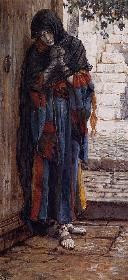 The Repentant Magdalene by James Jacques Joseph Tissot - Reproduction Oil Painting