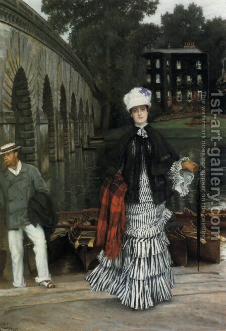 The Return From The Boating Trip by James Jacques Joseph Tissot - Reproduction Oil Painting
