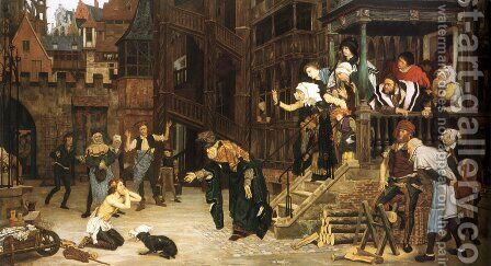 The Return Of The Prodigal Son by James Jacques Joseph Tissot - Reproduction Oil Painting