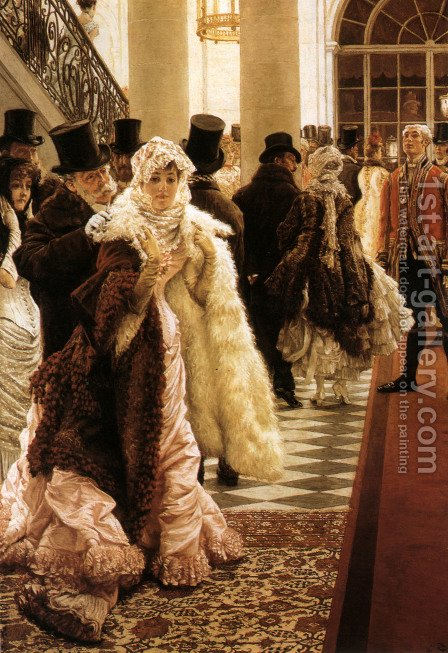 The Woman Of Fashion by James Jacques Joseph Tissot - Reproduction Oil Painting