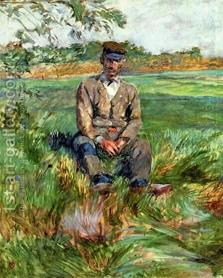 A Laborer At Celeyran by Toulouse-Lautrec - Reproduction Oil Painting