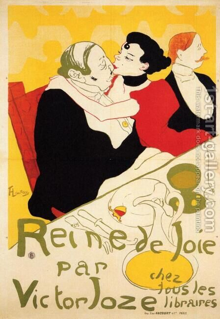 Queen Of Joy by Toulouse-Lautrec - Reproduction Oil Painting