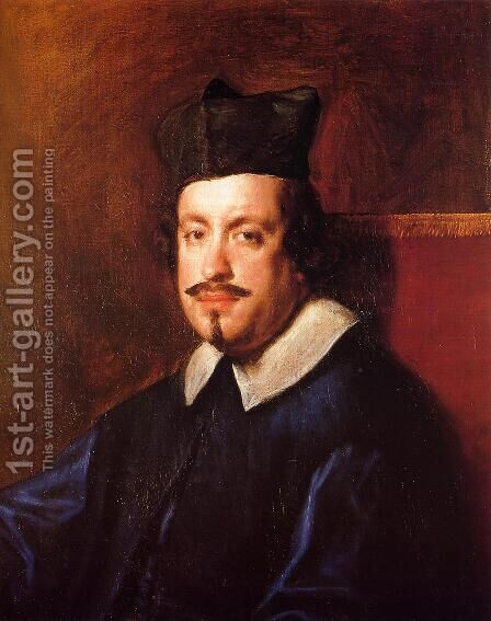 Camillo Massimi by Velazquez - Reproduction Oil Painting