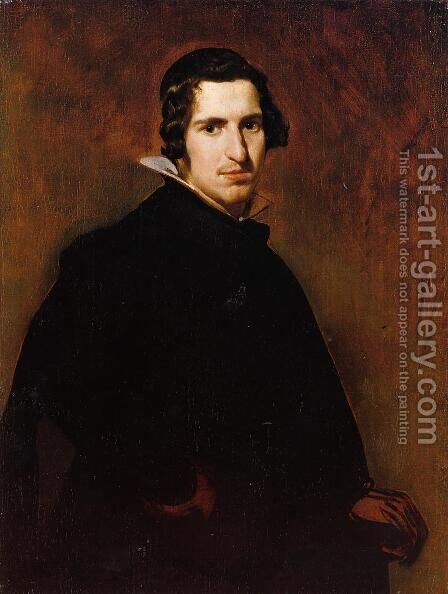 Portrait Of A Young Man by Velazquez - Reproduction Oil Painting