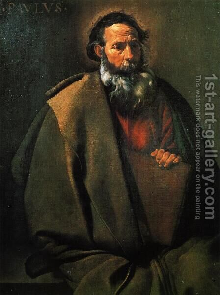 Saint Paul by Velazquez - Reproduction Oil Painting
