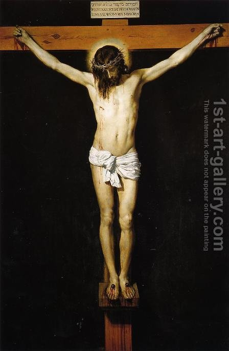The Crucifixion by Velazquez - Reproduction Oil Painting