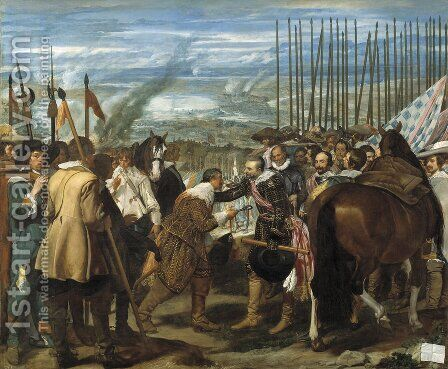 The Surrender Of Breda by Velazquez - Reproduction Oil Painting