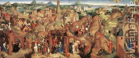 Advent and Triumph of Christ 1480 by Hans Memling - Reproduction Oil Painting