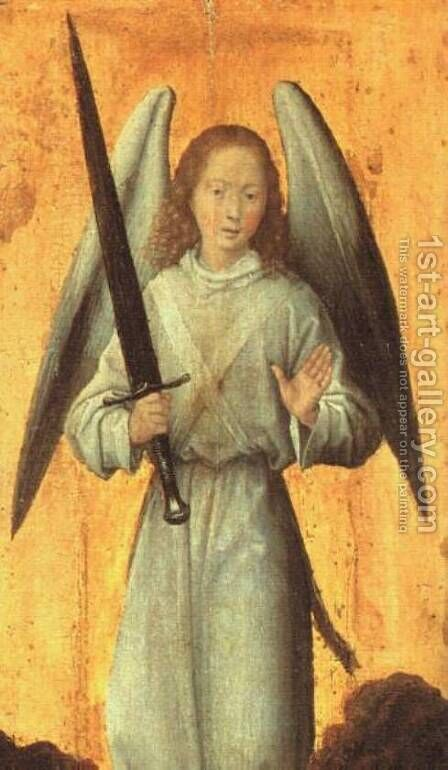 The Archangel Michael c. 1479 by Hans Memling - Reproduction Oil Painting