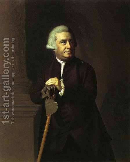 Thomas Amory II by John Singleton Copley - Reproduction Oil Painting