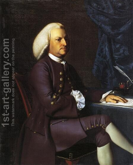 Isaac Smith by John Singleton Copley - Reproduction Oil Painting