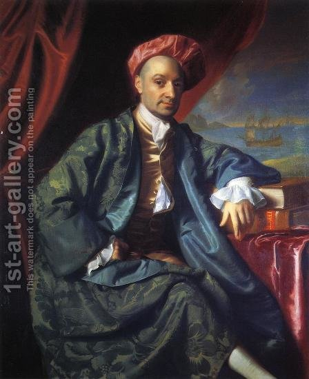 Nicholas Boylston by John Singleton Copley - Reproduction Oil Painting