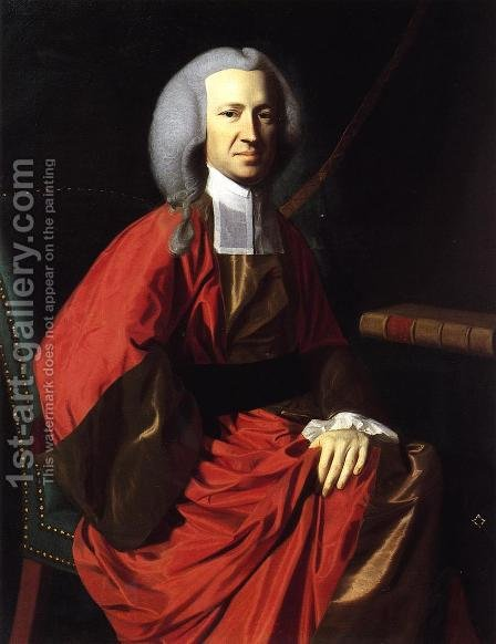 Portrait Of Judge Martin Howard by John Singleton Copley - Reproduction Oil Painting