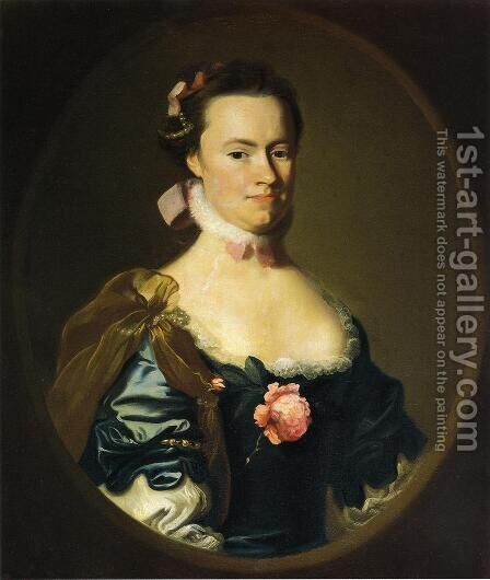 Lydia Lynde by John Singleton Copley - Reproduction Oil Painting