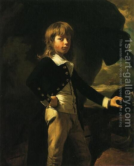 Midshipman Augustus Brine by John Singleton Copley - Reproduction Oil Painting