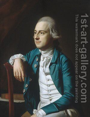 Gulian Verplanck by John Singleton Copley - Reproduction Oil Painting