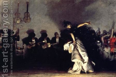 El Jaleo by Sargent - Reproduction Oil Painting