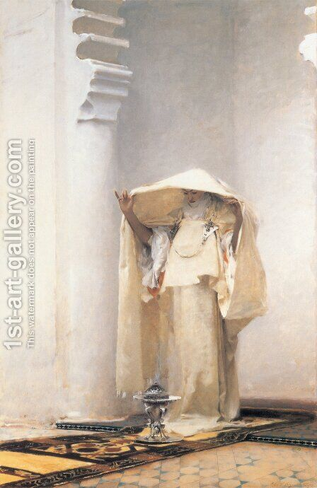 Fumee D'Ambris Gris by Sargent - Reproduction Oil Painting